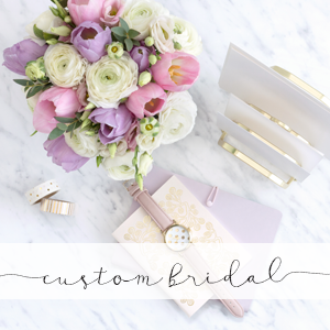 bonhomieDESIGN custom bridal